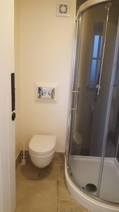 Access to superb toilet facilities.